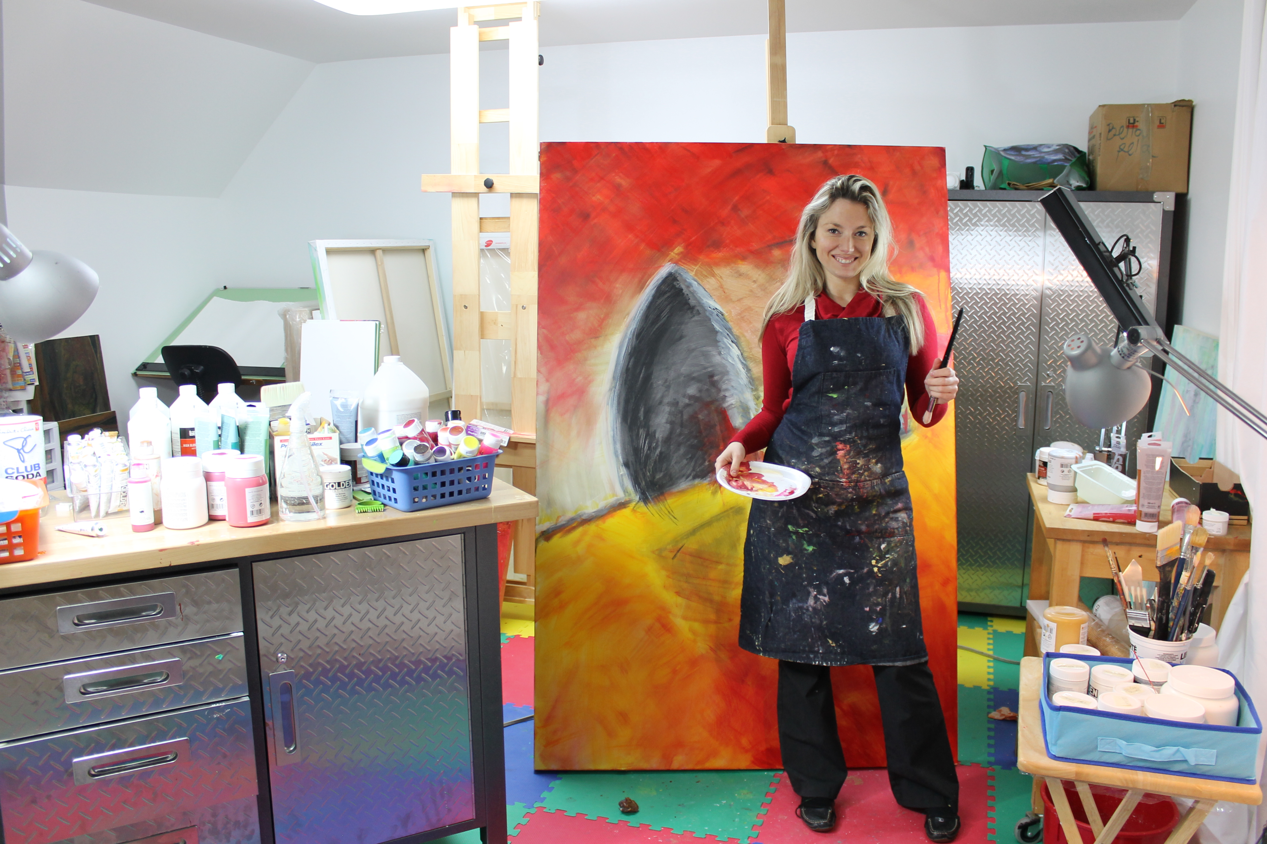 Atelier de l artiste marie ve raymond artiste peintre - Atelier artiste peintre ...
